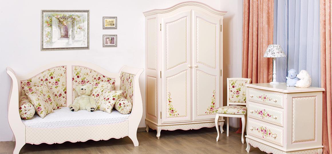Детская мебель для девочки Princess Rose – розовый сад