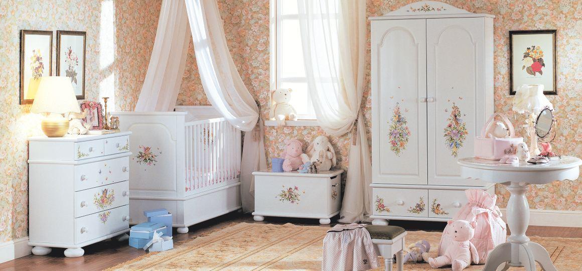 Удивительная детская мебель с росписью Willie-Winkie