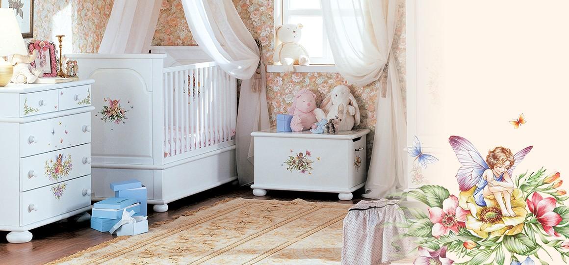 Кроватки для новорожденных из натурального массива дерева