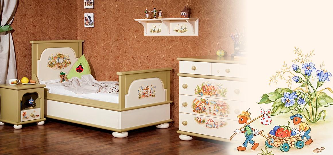 Комната для малыша дошкольника